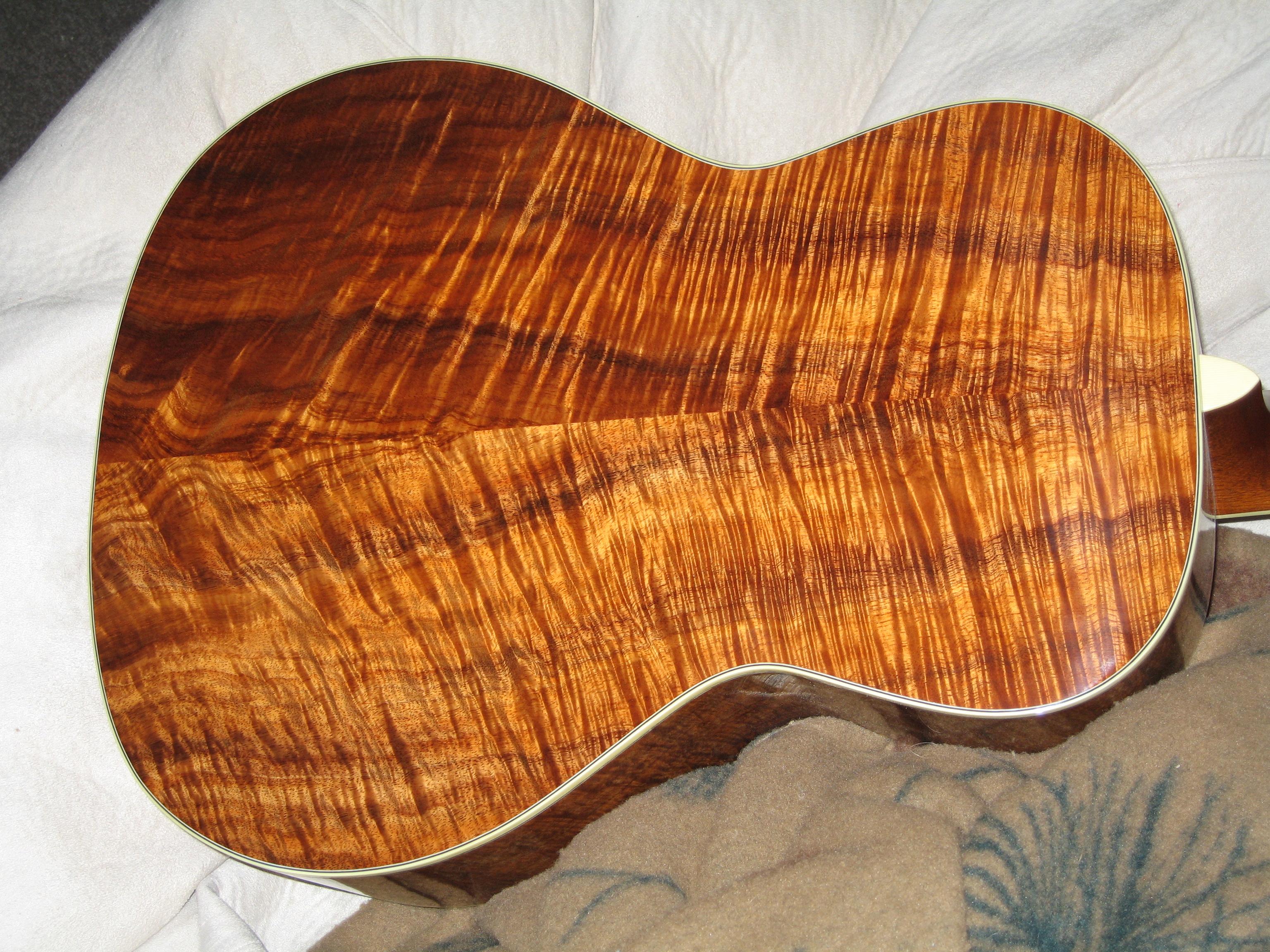 Hawaiian Koa Guitar