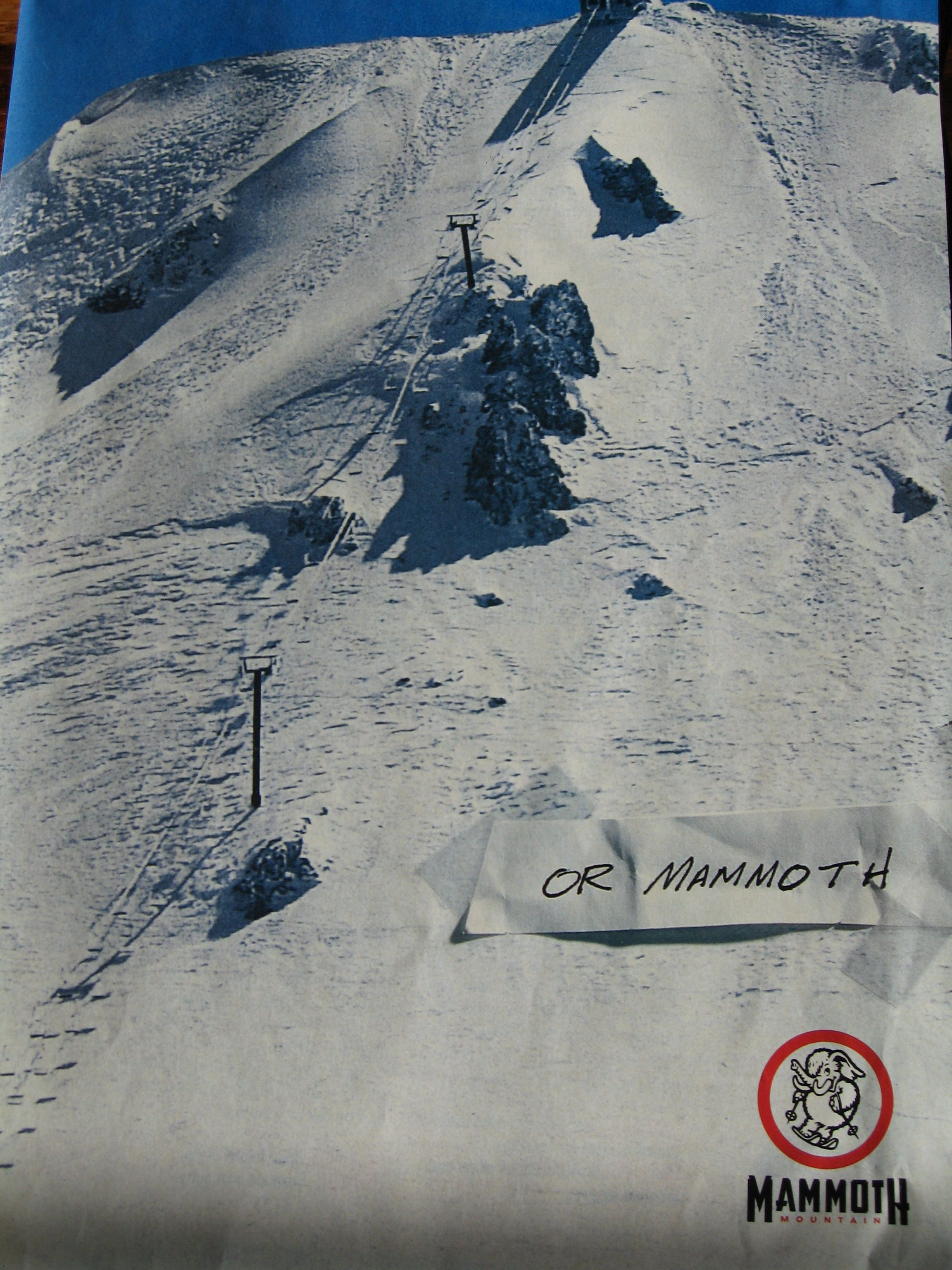 Rusty 39 s bulletin board chairway to heaven mammoth mtn for Chair 23 mammoth